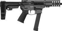 "CMMG Banshee 300 MKGS 9mm, 5"" Barrel, Sniper Gray, Black Magpul, RipBrace, 33rd"