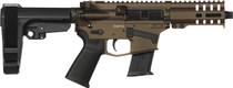 "CMMG Banshee 300 Mk57 5.7x28mm, 5"" Barrel, RipBrace, Midnight Bronze, 20rd"