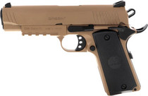 "Girsan MC1911 Commander 9mm, 4.40"" Barrel, Novak Sights, FDE, 9rd"