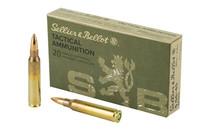 Sellier & Bellot 5.56mm NATO 55Gr, Full Metal Jacket, 20rd Box