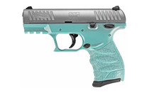 """Walther CCP M2 .380 ACP, 3.54"""" Barrel, Angel Blue, Stainless, 2x 8rd"""