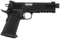 "Rock Island Armory 1911 Tac Ultra 10mm, 5.5"" Threaded Barrel, Fiber Optic, Black, 16rd"