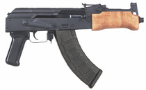 "F.A. Cugir Mini Draco AK-47 Pistol Minor Cosmetic Blemish 762X39, 7.75"" Barrel, Polymer Grip, Wood Furniture, 1-30 Rd Mag"