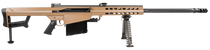 "Barrett 82A1 416 Barrett, 29"" Fluted Barrel, Coyote Finish, Carry Case, Monopod, 10rd"