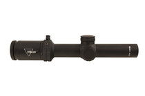 Trijicon Credo 1-4x24 2nd Focal Plane, Green BDC Segmented Circle .223 / 55gr, 30mm Tube, Matte Black, Low Capped Adjusters
