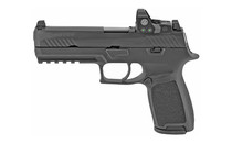 "Sig P320 Full Size RXP 9mm, 4.7"" Barrel, Black, Fixed Sights, 2 Mags, Romeo1 Pro Reflex, 17rd"