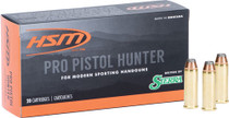 HSM Pro Pistol 45 Colt 300gr, Jacketed Soft Point, 20rd Box