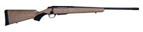 """Tikka T3x Lite, Bolt Action Rifle, 270 WIN, 22.4"""" Fluted Barrel, 1:10 Twist, Threaded 5/8x24, Roughtech Sand Pattern, Synthetic Stock, Black Barrel and Action Color, Right Hand, 3Rd, 1 Mag, Includes Matching Muzzle Brake"""