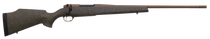 "Weatherby Mark V Weathermark LT 6.5 Weatherby RPM, 26"" Barrel, Steel Barrel, Green Black And FDE, Fiberglass Stock, 3rd"
