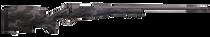 "Weatherby Mark V Accumark Pro 6.5 Weatherby RPM, 24"" Barrel, Carbon Fiber Gray Sponge Patterns, Tungsten Gray Cerakote, 4rd"