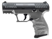 "Walther CCP M2 Compact 9mm, 3.54"" Barrel, Tungsten Gray, 2-8rd Magazines"