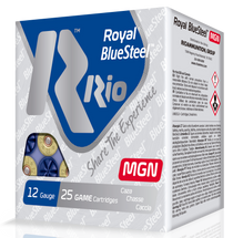 "Rio Royal BlueSteel 20 Ga, 3"", 1oz, 4 Shot, 25rd Box"