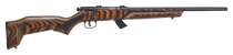 "Savage Mark II 22LR, 18"" Barrel, Brown Finish, Laminate Stock, 2 Pc Weaver Base, 10rd"