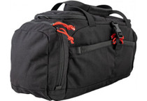 Grey Ghost Range Bag, 500D Cordura, Red Zipper Pulls, Black