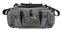 Grey Ghost Range Bag, 500D Cordura, Lime Zipper Pulls, Grey