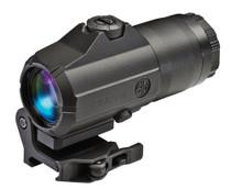 """Sig Juliet4 Magnifer 4x 24mm Obj 2.5"""" Eye Relief"""