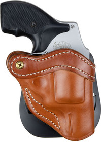 1791 R1 Classic Brown Leather Outside Waistband Ruger LCR/S&W J-Frame, Right Hand