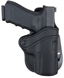 1791 PDH 2.4 Black Leather Outside Waistband Springfield XD-M/Sig P320, Right Hand