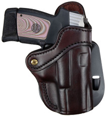 1791 PDH 2.1 Signature Brown Leather Outside Waistband Glock 17/S&W Shield/Springfield XD9, Right Hand