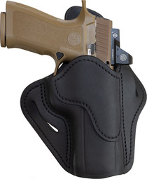 1791 BH2.4 Black Leather Outside Waistband Sig P320/Springfield XD-M/Walther PPQ, Right Hand