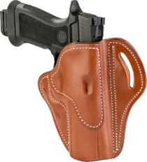 1791 BH2.4 Classic Brown Leather Outside Waistband Sig P320/Springfield XD-M/Walther PPQ, Right Hand