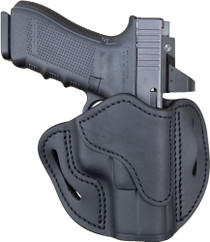 1791 BH2.1 Black Leather Outside Waistband Glock 17/S&W Shield/Springfield XD9, Right Hand