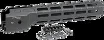 """Midwest Combat Ruger Pc9 M-Lok Handguard Black Hardcoat Anodized 6061-T6 Aluminum 12"""""""