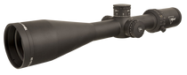 Trijicon Credo 4-16x50 2nd Focal Plane, Red MRAD Center Dot, 30mm Tube, Matte Black, Exposed Elevation Adjuster, Return to Zero