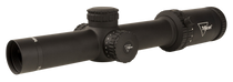 Trijicon Credo 1-6x24 2nd Focal Plane, Red BDC Segmented Circle .223 / 55gr, 30mm Tube, Matte Black, Low Capped Adjusters