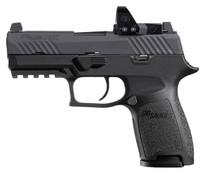 """Sig P320 RXP Compact 9mm, 3.9"""" Barrel, Contrast/Romeo1 Pro, Black, 2x 15rd"""
