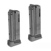 Ruger LCP II Magazine 22LR, 2 Pack, Black, 2x10rd For Lite Rack
