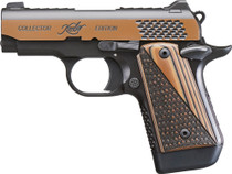 "Kimber Micro 9 Raptor 9mm, 3"" Barrel, KimPro Black/Tru-Tan, Black/Tan Grips, 7rd"