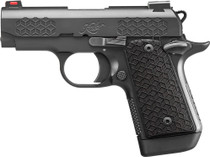 "Kimber Micro 9 Triari 9mm, 3"" Barrel, KimPro II Black, Black Linen Micarta Grips, 7rd"