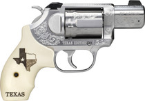 "Kimber K6s Texas Edition .357 Mag, 2"" SS Barrel, Ivory G10 Texas Motif Grips, 6rd"