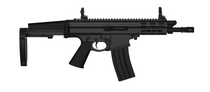 "Robinson Arms XCR-L Pistol 7.62x39 7"" Barrel Keymod Rail, Black Finish Tailhook Brace"