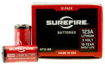 Surefire 123A Batteries Bulk Pack, 1200 Cells