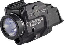 Streamlight TLR-8 A Green Laser Clear LED 500 Lumens CR123A Lithium Battery Black Aluminum High/Low Switch