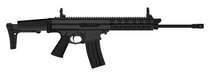 "Robinson Arms XCR-L Standard Rifle 5.56 16"" Light Barrel Keymod Rail, Black Finish, 30rd Mag"