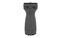 FAB Defense AR-15 Foregrip, Optional Picatinny Side Rail, Compact, Ambidextrous, Mounting Hardware Included, Black