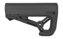 FAB Defense AR-15 Buttstock, Small and Compact Design, Fits Mil-Spec And Commercial Tubes, Black