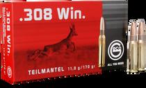 GECO Teilmantel  308 Winchester 170gr, Soft Point, 20rd Box