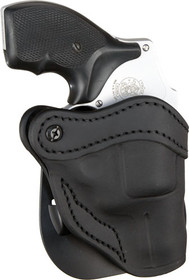 1791 Gunleather R1 Ruger LCR/S&W J-Frame, Stealth BlackLeather, Outside Waistband, Right Hand