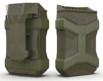 Pitbull Tactical Universal Mag Carrier Gen2, 9mm to .45 ACP, OD Green