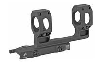 American Defense Mount, Picatinny, Quick Release, Fits 30mm Scope, High Height, Black, Titanium Lever