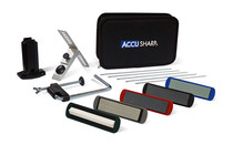 AccuSharp Knife Sharpener, 5 Stone Precision Sharpening Kit