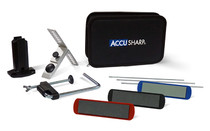 AccuSharp Knife Sharpener, 3 Stone Precision Sharpening Kit