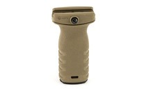 Mission First Tactical React Short Vertical Grip Scorched Dark Earth