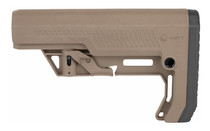 Mission First Tactical Battlelink Extreme Duty Minimalist Stock Mil Spec Tube, Scorched Dark Earth