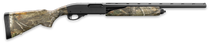 "Remington 870 Express Compact Camo, Pump, 20 Gauge, 3"" Chamber, 21"" Barrel, Black, RealTree Edge Synthetic Stock, 4Rd"