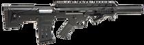 "Panzer Arms BP12 12 Ga, 20"" Barrel, Fixed Stock/Adj. Cheekpiece, Black, 5rd"